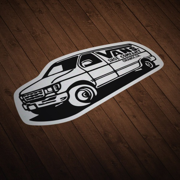 Car & Motorbike Stickers: Vans Van