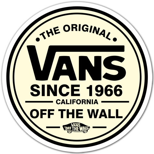 Sticker Surf Skate The Original Vans Muraldecal Com