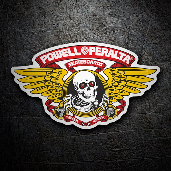 Car & Motorbike Stickers: Powell Peralta Skateboards