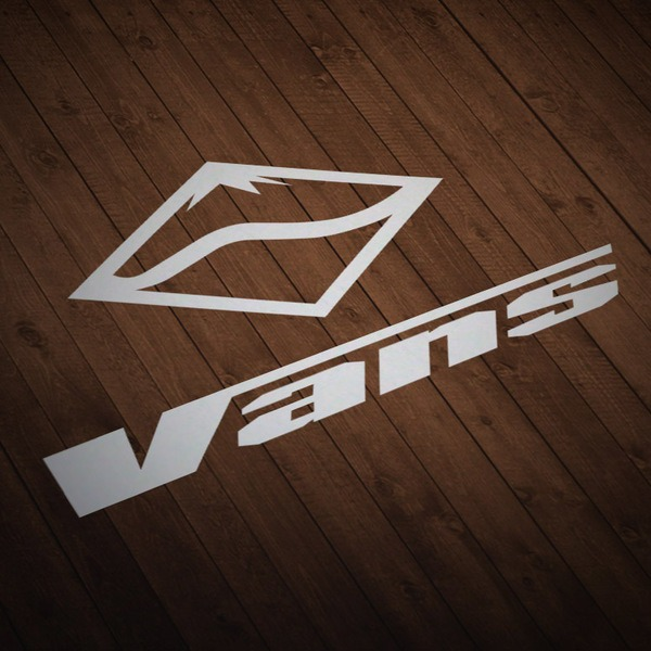 Car & Motorbike Stickers: Vans Snow