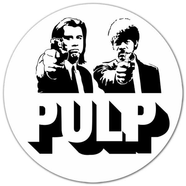 Car & Motorbike Stickers: Pulp Fiction