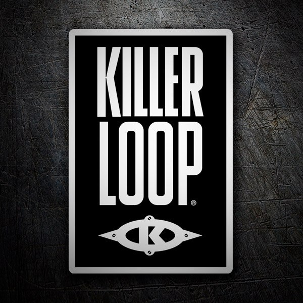 Car & Motorbike Stickers: Killer Loop classic