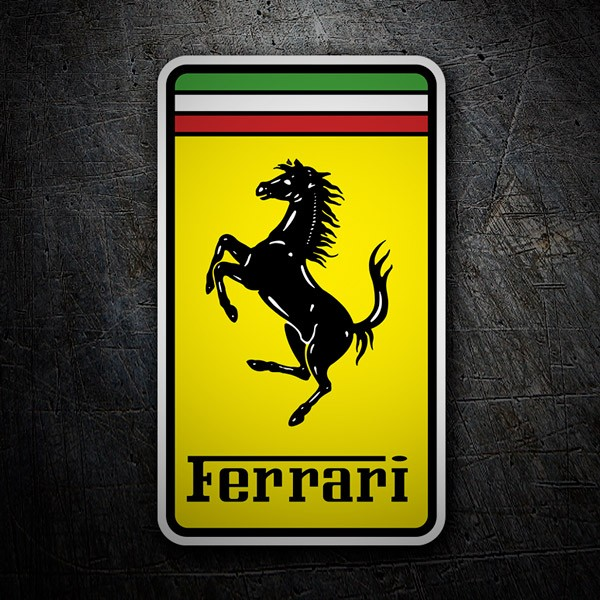 Car and Motorbike Stickers: Ferrari 1