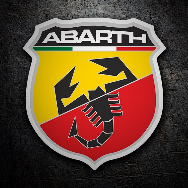 Car & Motorbike Stickers: Abarth