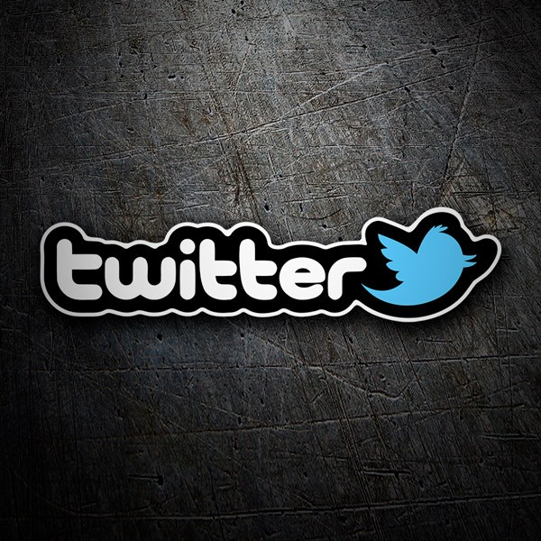 Car & Motorbike Stickers: Twitter