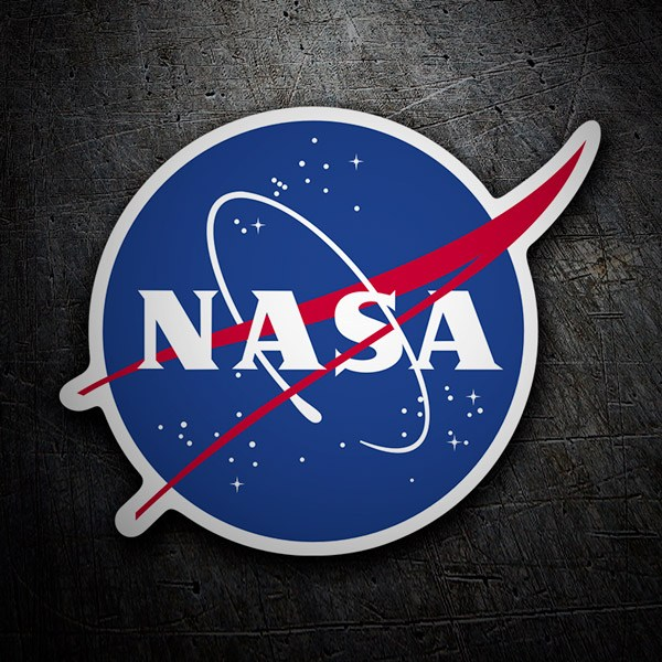 Car and Motorbike Stickers: Nasa