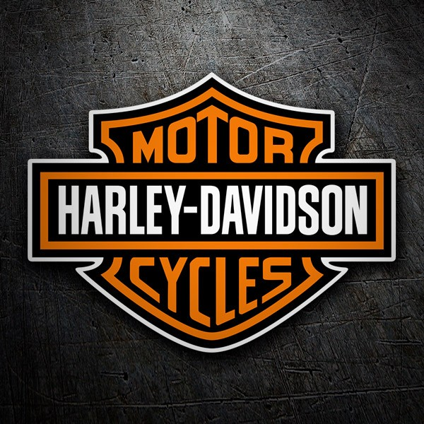 Car & Motorbike Stickers: Harley Davidson 1