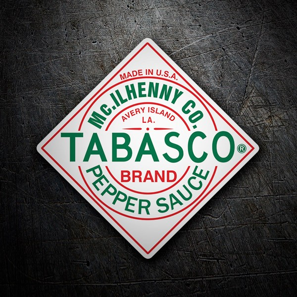 Car & Motorbike Stickers: Tabasco Pepper Sauce
