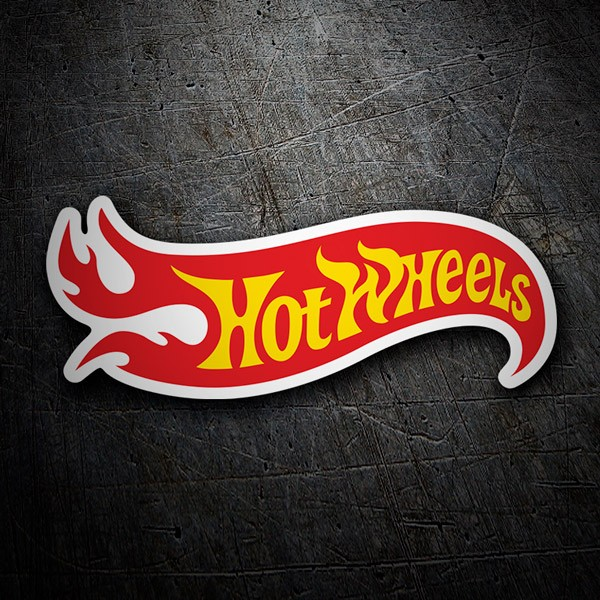 Car and Motorbike Stickers: Hot Wheels