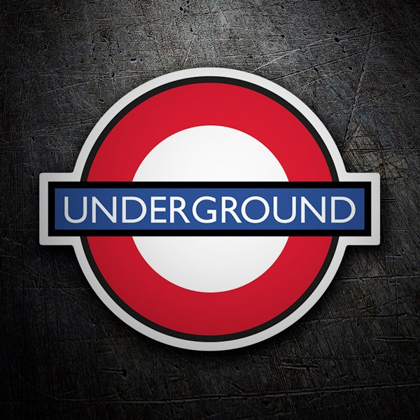 Car & Motorbike Stickers: Underground