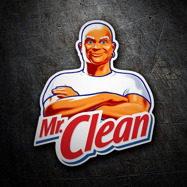 Car & Motorbike Stickers: Mr. Clean