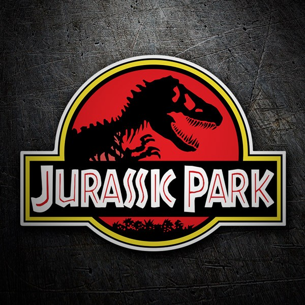 Car and Motorbike Stickers: Jurassic Park