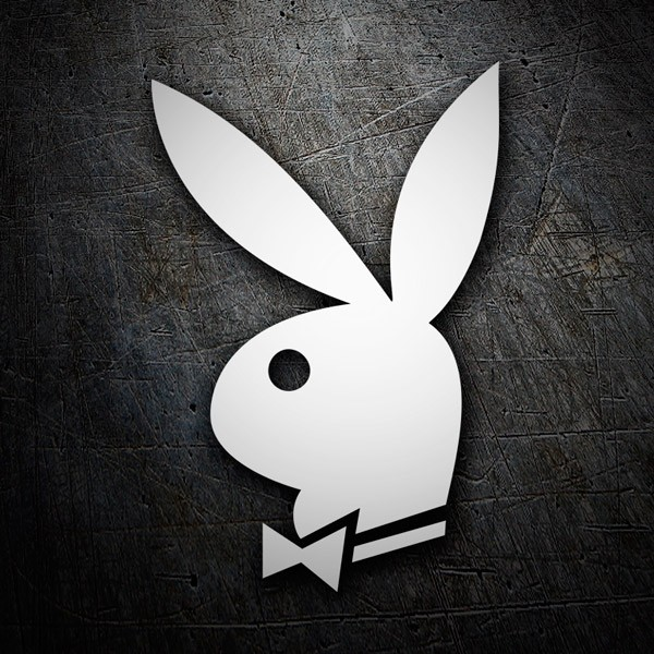 Car & Motorbike Stickers: Playboy