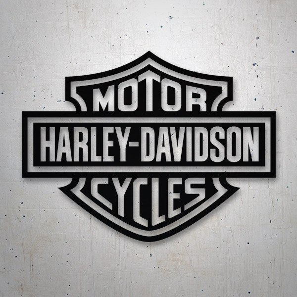 Car & Motorbike Stickers: Harley Davidson 2