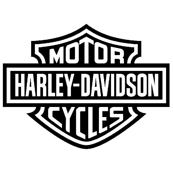 Car & Motorbike Stickers: Harley Davidson Cycles