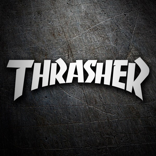Car & Motorbike Stickers: Thrasher