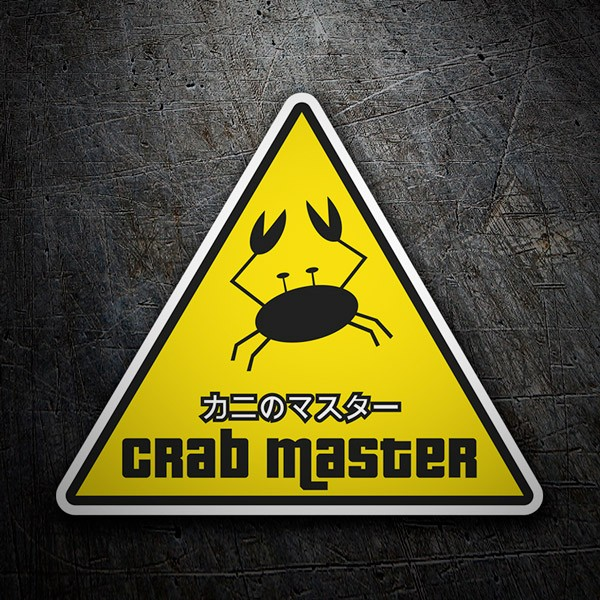 Car & Motorbike Stickers: Crab Master
