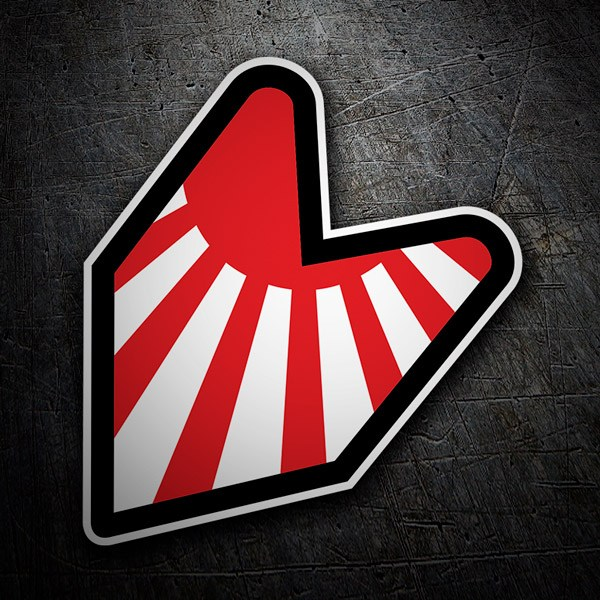 Car & Motorbike Stickers: JDM Rising Sun