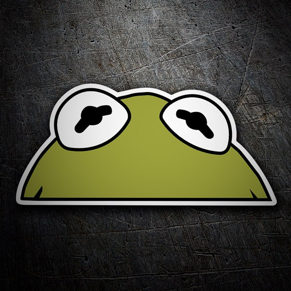 Car and Motorbike Stickers: Kermit the Frog