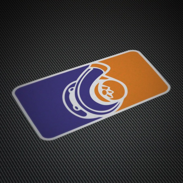 Car & Motorbike Stickers: Turbo compressor