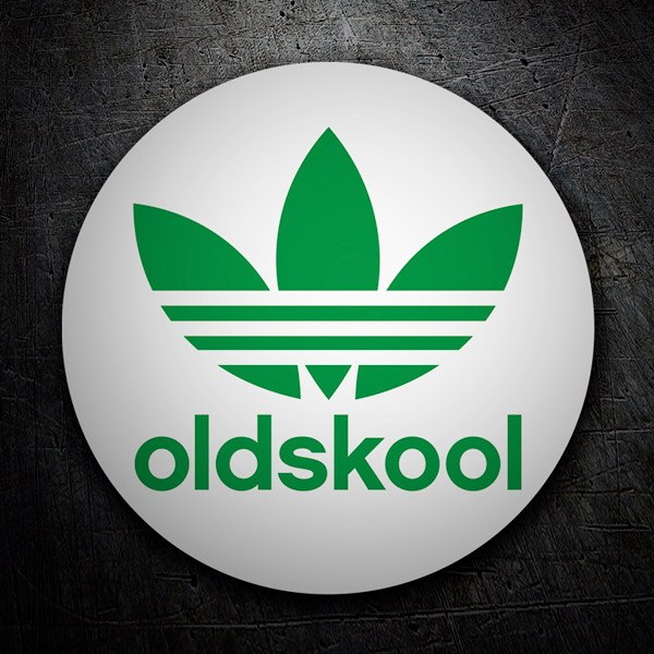Car & Motorbike Stickers: Oldskool Adidas