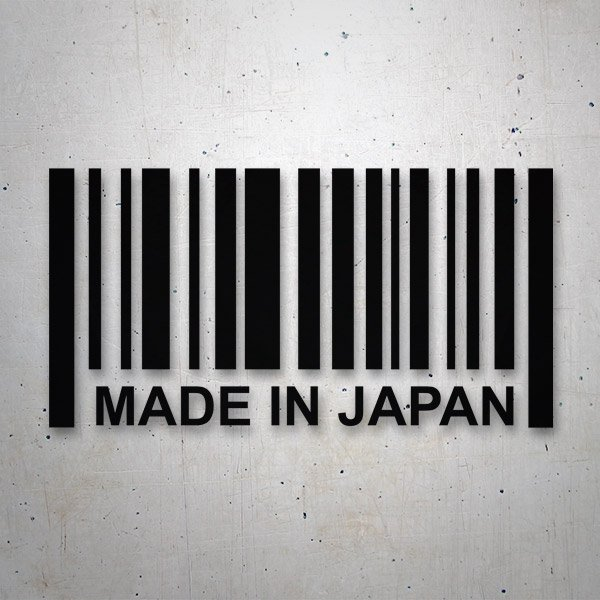 Car & Motorbike Stickers: Made in Japan