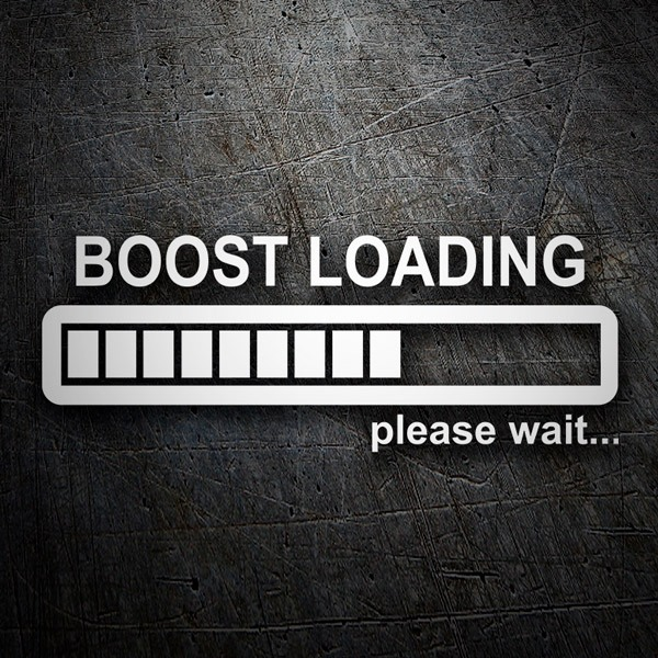 Car & Motorbike Stickers: Boost Loading please wait