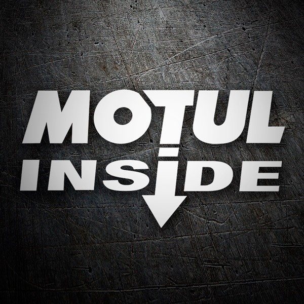 Car & Motorbike Stickers: Motul Inside