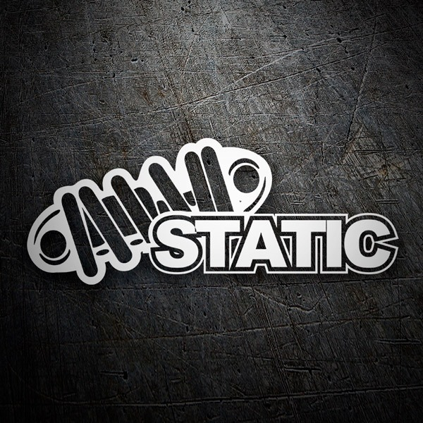 Car & Motorbike Stickers: Static