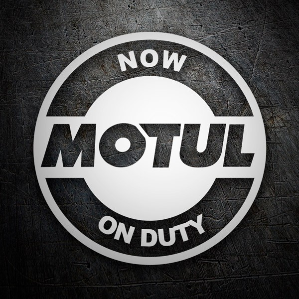 Car & Motorbike Stickers: Now Motul on Duty