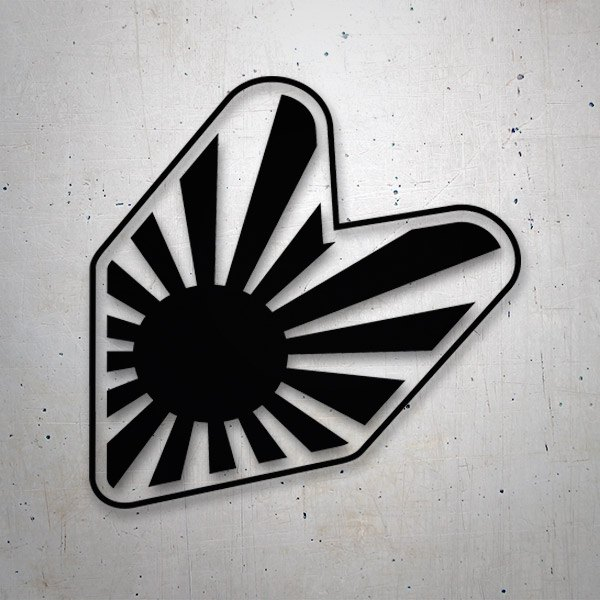 Car & Motorbike Stickers: JMD Badge Japan