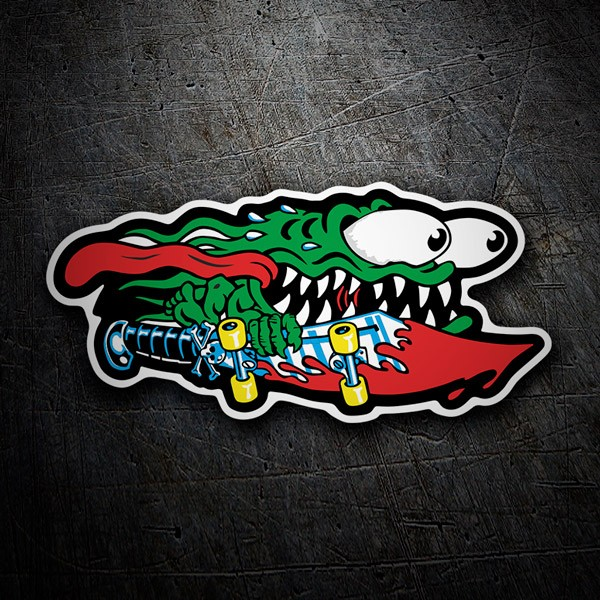 Car & Motorbike Stickers: Santa Cruz Slasher Sword