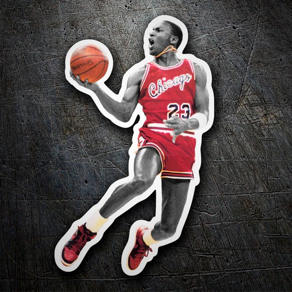 Car & Motorbike Stickers: Michael Jordan (Chicago Bulls)