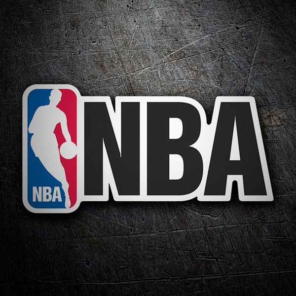 Car & Motorbike Stickers: NBA (National Basketball Association)