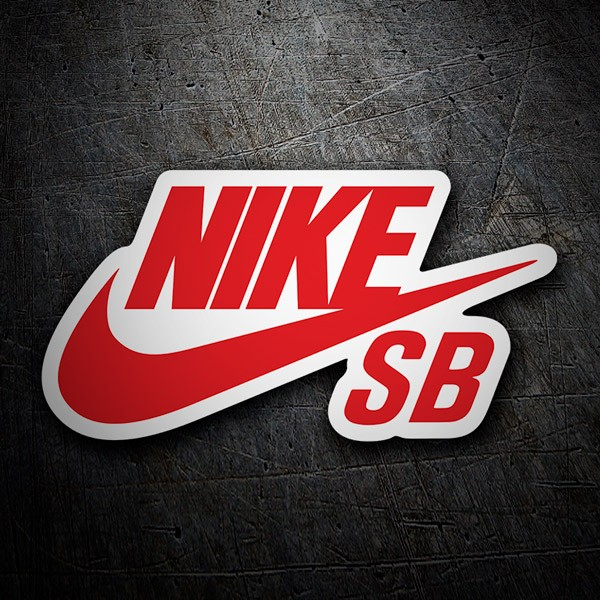 Car & Motorbike Stickers: Nike SB