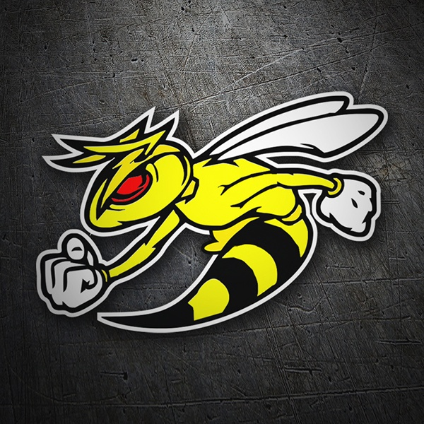 Car & Motorbike Stickers: Wasp