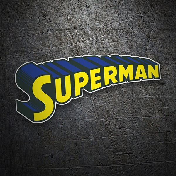 Car & Motorbike Stickers: Superman Logo
