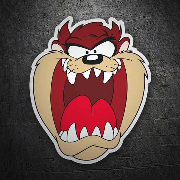 Car & Motorbike Stickers: Taz, Tasmanian Devil
