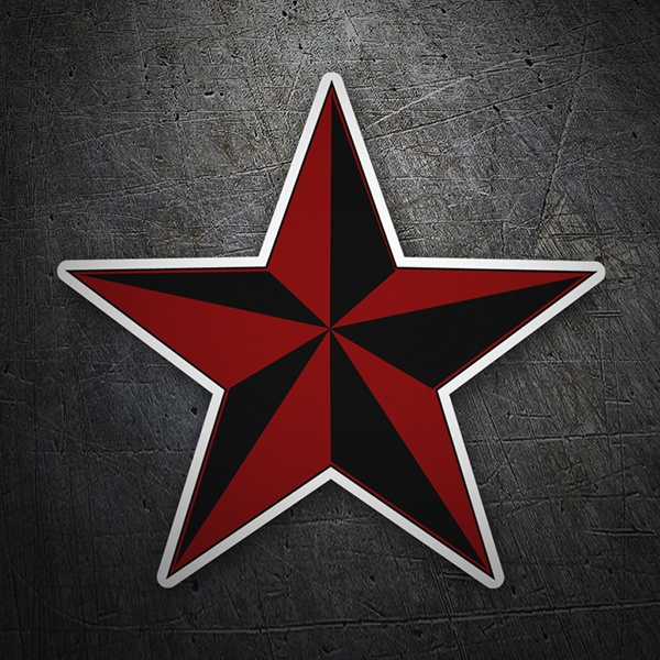 Car and Motorbike Stickers: Nautic Star