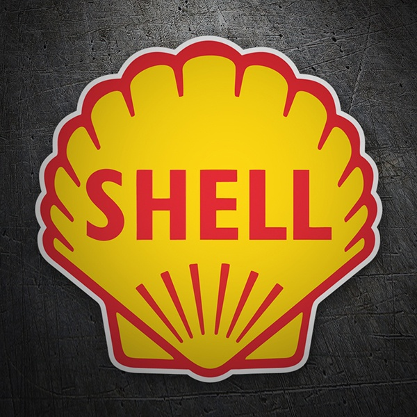 Car & Motorbike Stickers: Shell 1