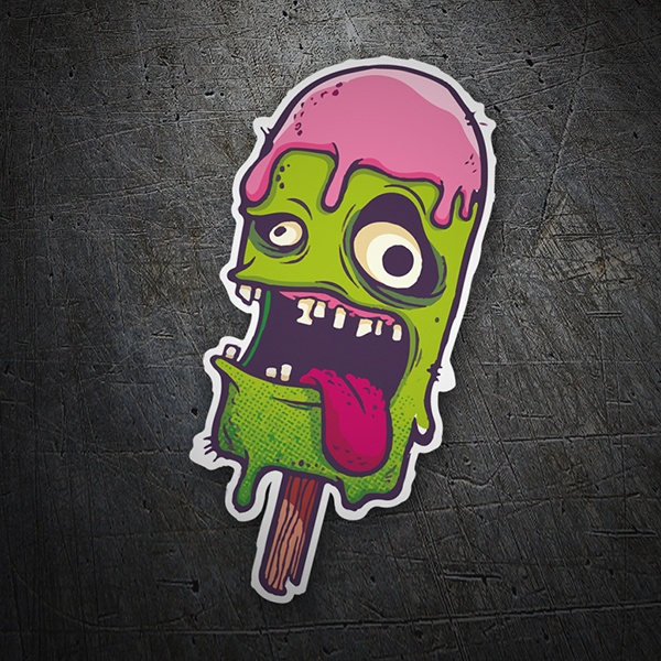Car & Motorbike Stickers: Monster Ice Cream