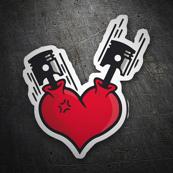 Car & Motorbike Stickers: Motor Hearth