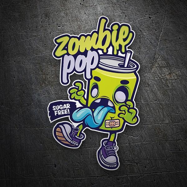 Sticker Zombie Pop Muraldecal Com