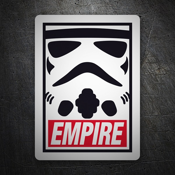 Car & Motorbike Stickers: Obey Empire (Star Wars)
