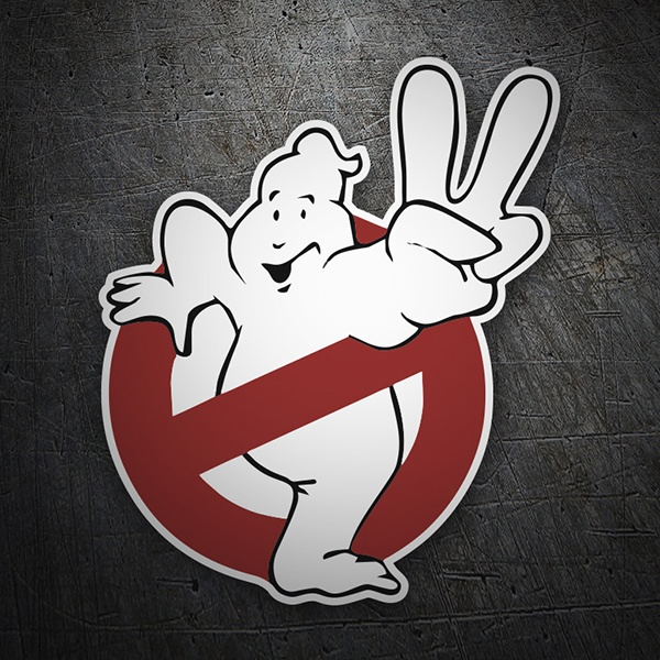 Car & Motorbike Stickers: Ghostbusters 2