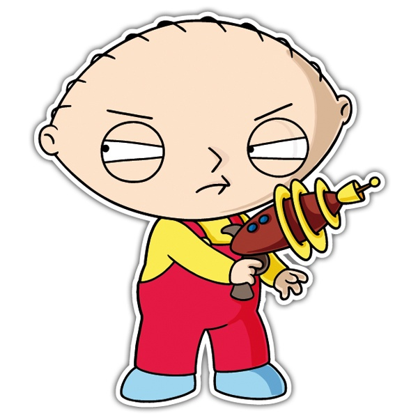 Car & Motorbike Stickers: Stewie