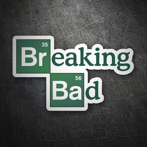 Car & Motorbike Stickers: Breaking bad logo