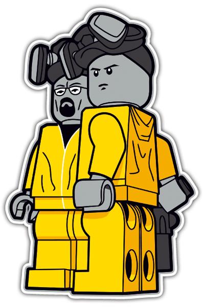 Sticker Breaking Bad Lego Muraldecal Com