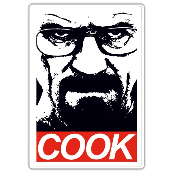 Car & Motorbike Stickers: Breaking Bad Cook