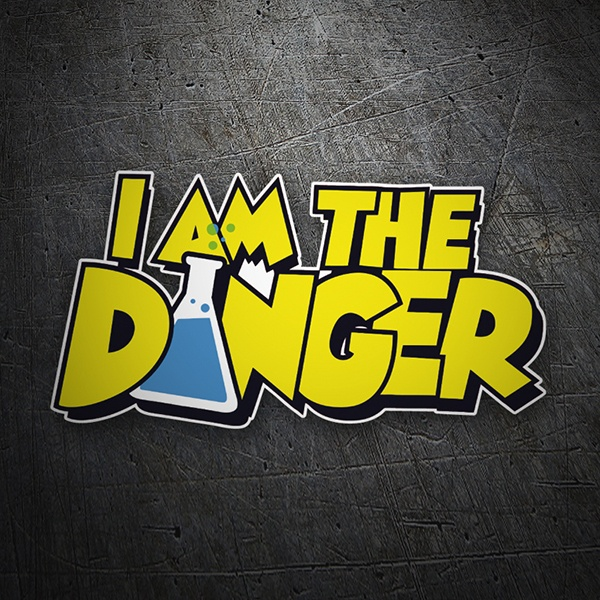 Car and Motorbike Stickers: Breaking Bad I am the Danger